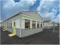 Image of Extra Space Self Storage Facility on 1030 Reeves St in Dunmore, PA