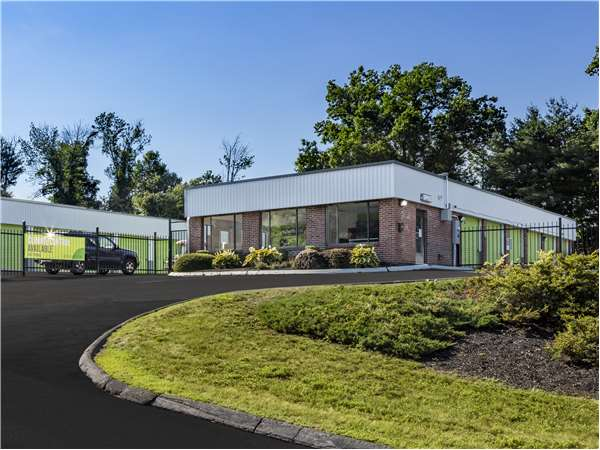 Image of Extra Space Storage Facility on 50 Olesen Rd in Wethersfield, CT