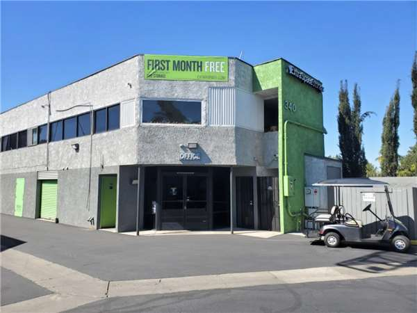 Image of Extra Space Storage Facility on 340 S Flower St in Orange, CA