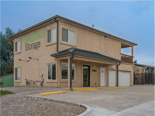 Image of Extra Space Storage Facility on 1950 Delta Drive in Colorado Springs, CO